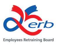 Logo of the 25th Anniversary of the ERB